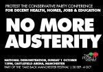 The People's Assembly Protest the Tory Party Conference Manchester 2017